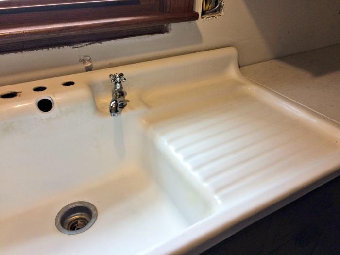 farmhouse renovation week 21 kitchen sink