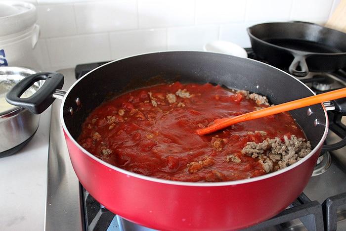 Skillet Lasagna-9