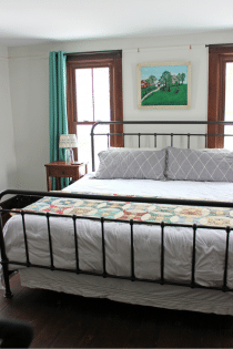 Farmhouse Master Bedroom Renovation : Before & After