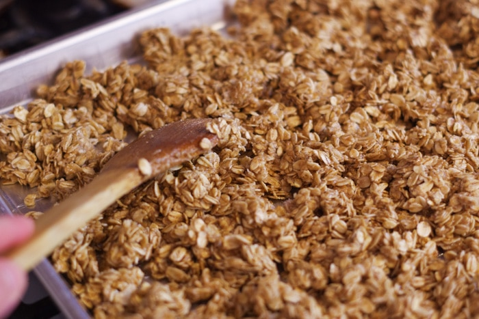 simple homemade granola-15