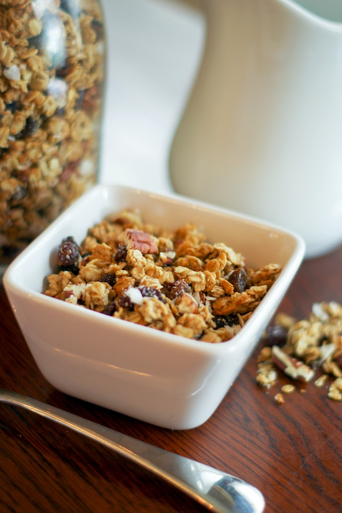granola recipe homemade easy simple delight recipes diy baking tools cleverly farmhouse cleverlysimple copy