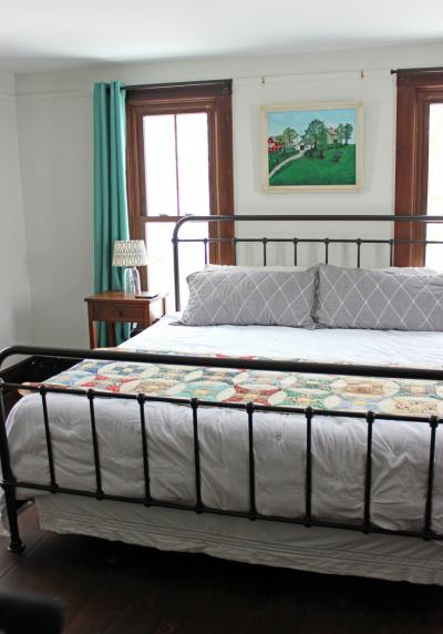 farmhouse master bedroom renovation ohio