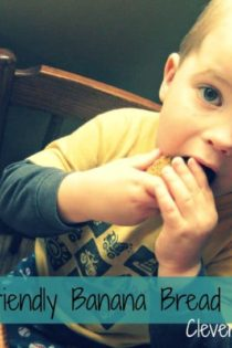 Toddler Friendly Banana Bread Recipe