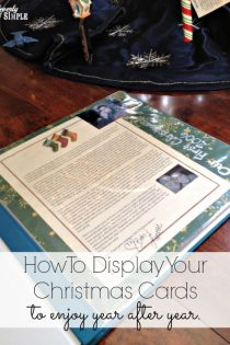 How to Display Your Christmas Cards to Enjoy Year After Year