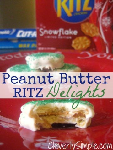Peanut Butter Ritz Chocolate Delights
