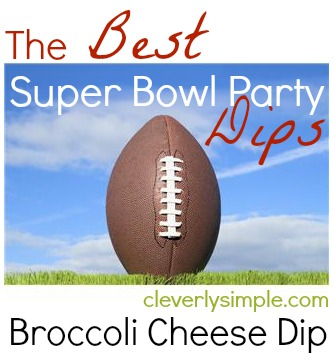 The Best Super Bowl Dips Brocolli Cheese Dip