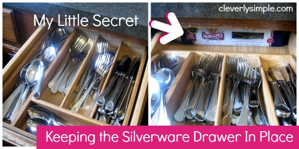 Spring Cleaning Kitchen Drawer