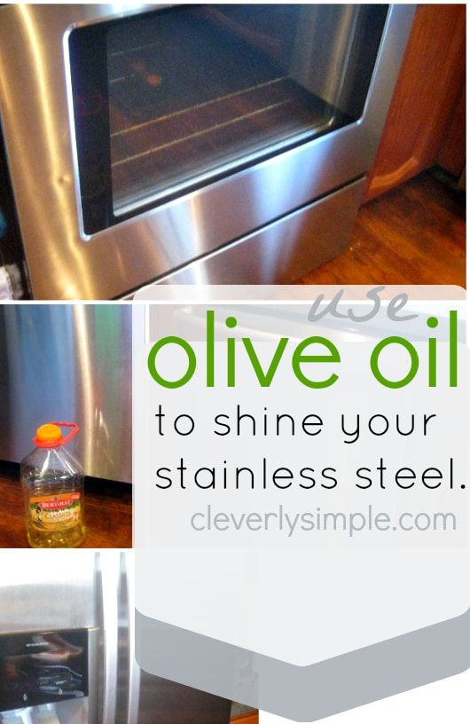 Use Olive Oil for Stainless Steel