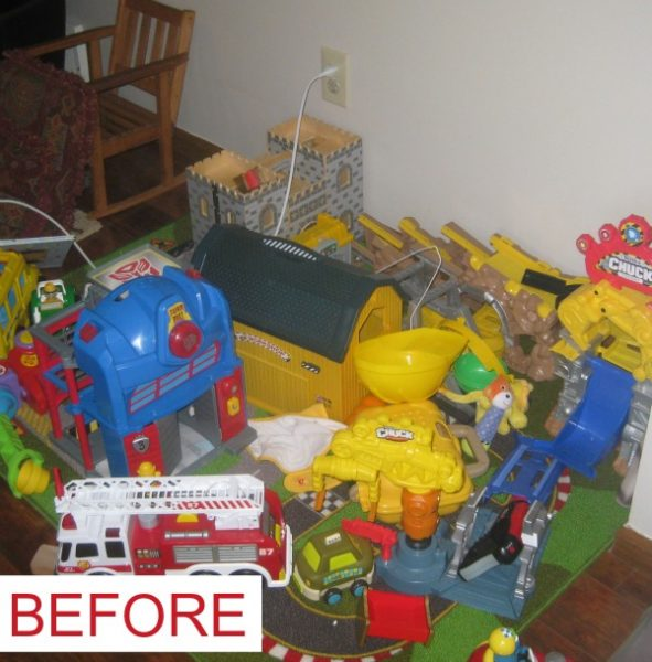 Before Toy Organization