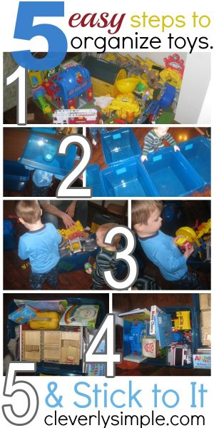 How to Organize Toys Easy