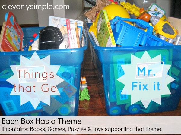 How to Organize your Toys Theme
