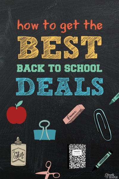 how to get the best back to school deals