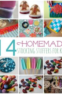 Homemade Stocking Stuffers for Kids