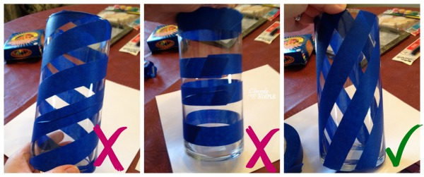 Tape the Glass Vase