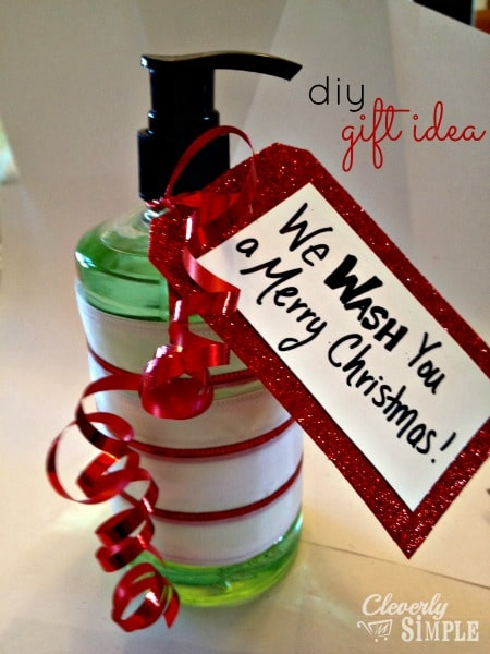 We Wash You A Merry Christmas Hostess Gift