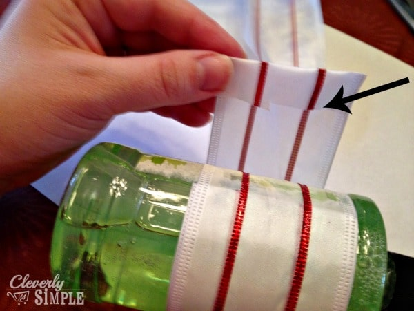 We Wash You A Merry Christmas Wrapping Ribbon