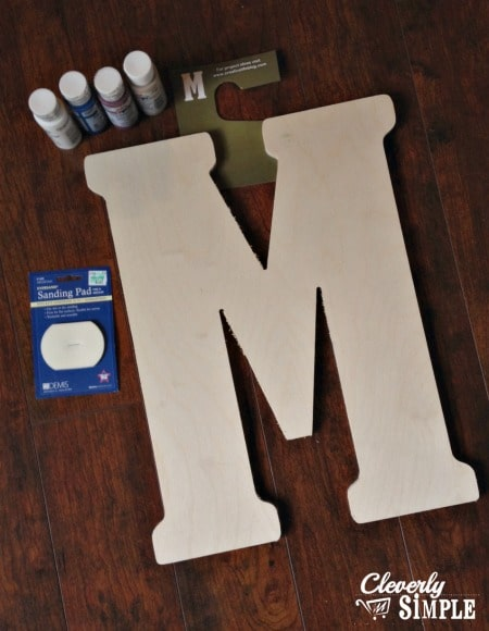 Block Letter Supplies
