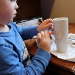 Crafts Boy Kids Arts and Crafts Sharpie Mug Artwork