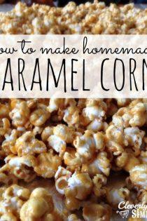 The Best Caramel Corn Recipe