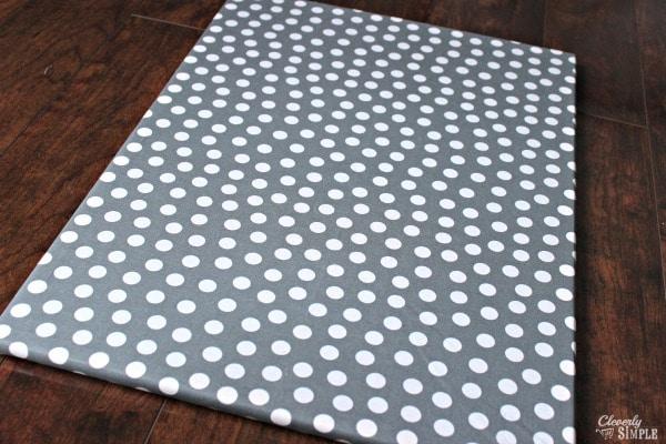 Fabric Covering Push Pin Board.jpg