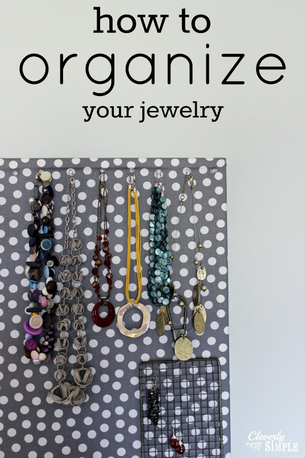 How To Arrange A Living Room With A Fireplace: How To Organize Your Jewelry For Less Than $10