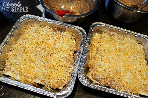 Recipe for Enchilada Casserole Ready to Bake