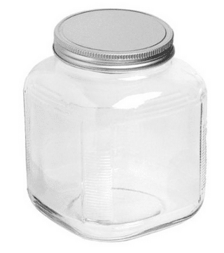 Glass Jar for Flour