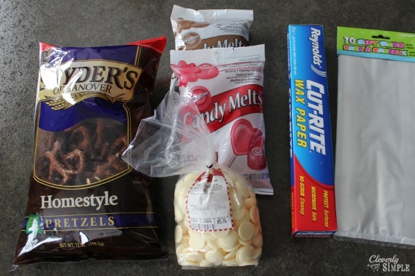 chocolate covered pretzel recipe ingredients