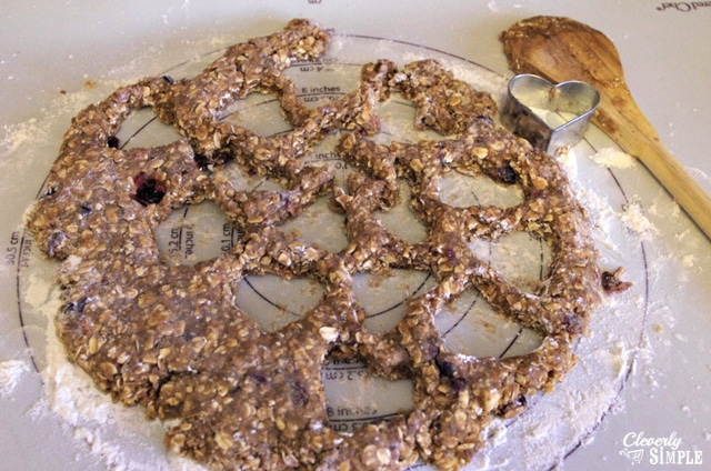Cut out oatmeal cookies healthy