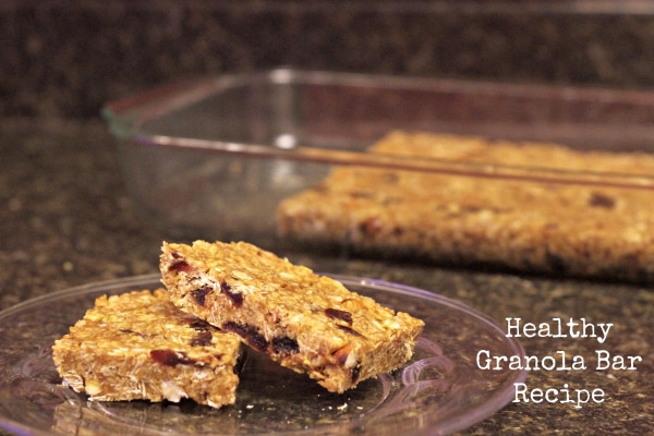 Healthy Granola Bars Recipe Best