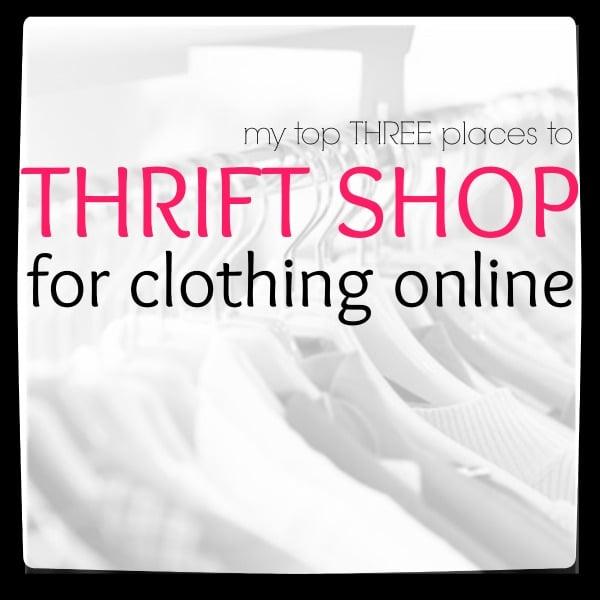 Thrift Shopping Online