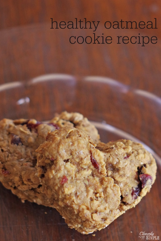 Healthy Oatmeal Cookie Recipe Made With Flax Seed Instead Of Eggs Cleverly Simple