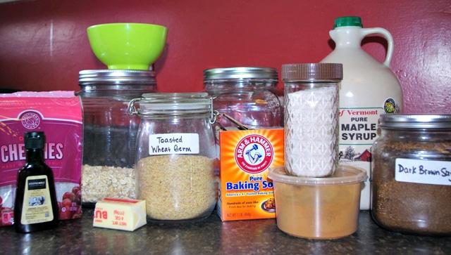 healthy oatmeal cookie recipe ingredients