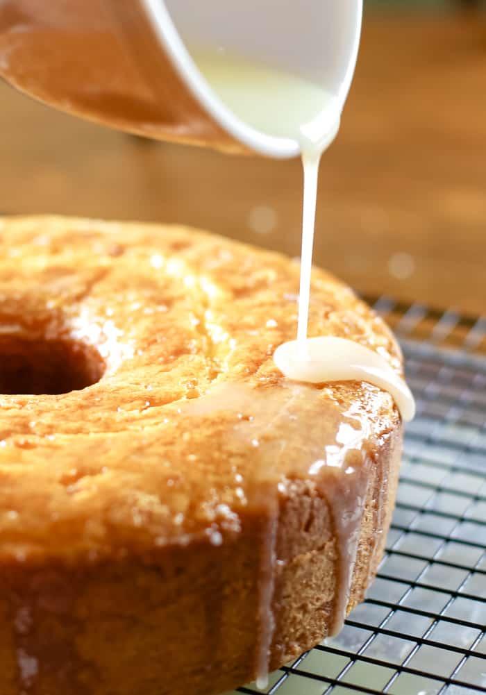 lemon cake icing glaze