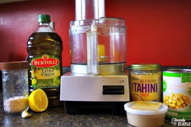 garlic hummus recipe ingredients