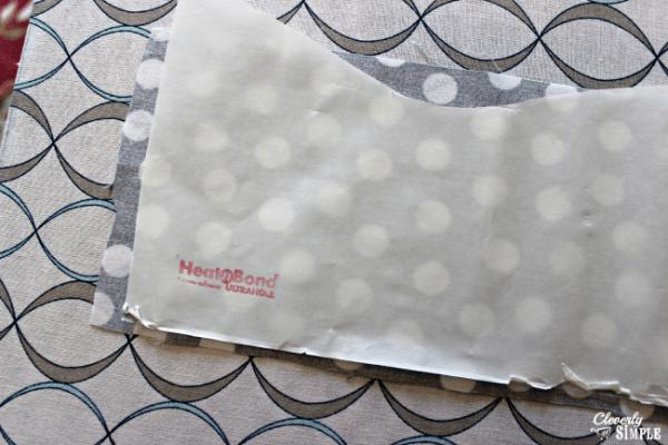 heat n bond to fabric