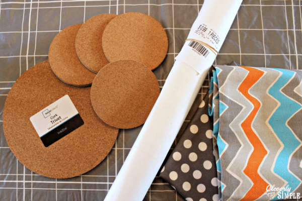 how to make trivets and coasters with cork