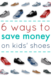 6 Ways To Save Money On Kids' Shoes