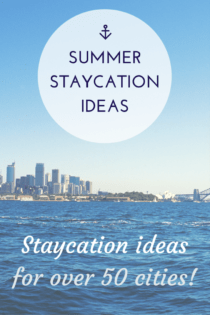 Summer Staycation Ideas for Over 50 Cities and a Columbus Ohio Staycation