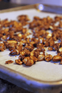 Candied Almonds Recipe (You can make it with pecans or walnuts, too!)