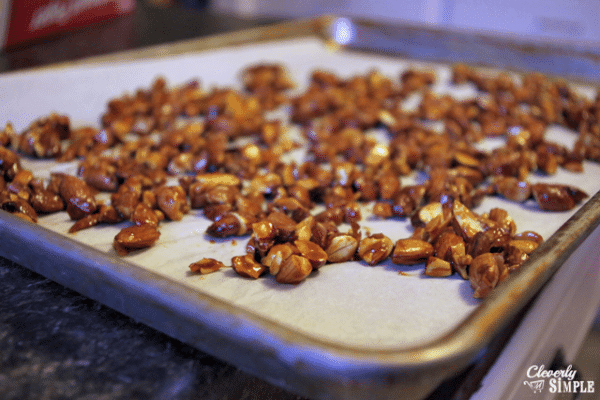 what you need to make candied almonds nuts