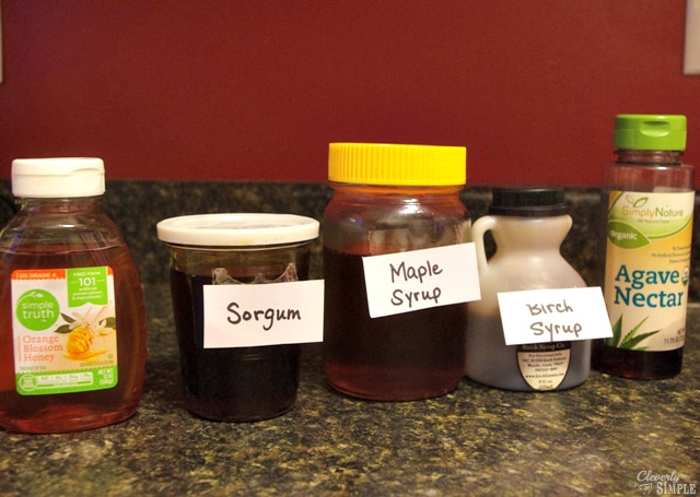 Honey Sorgum Maple Syrup Birch Syrup and Agave Nector Whats the difference.jpg