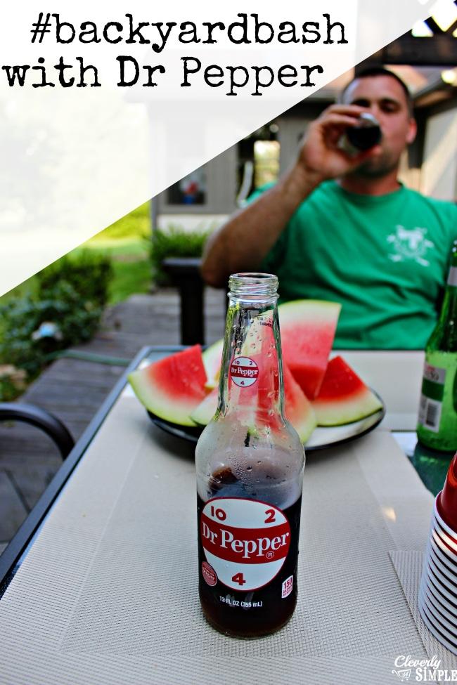 #backyardbath with Dr Pepper #shop