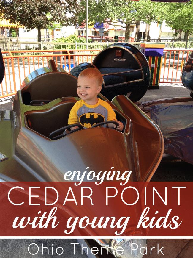 cedar point ohio theme park tips to taking young kids