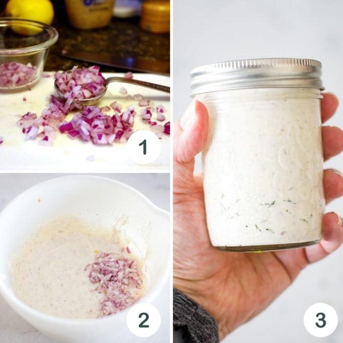tarter sauce step by step tutorial photo