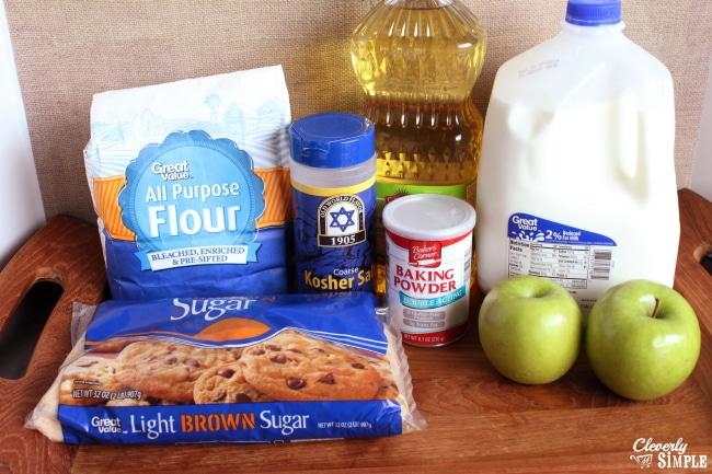 Apple pancake ingredients