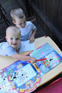 Disney Junior Back to School Preschool Fun (In The Backyard!) #shop