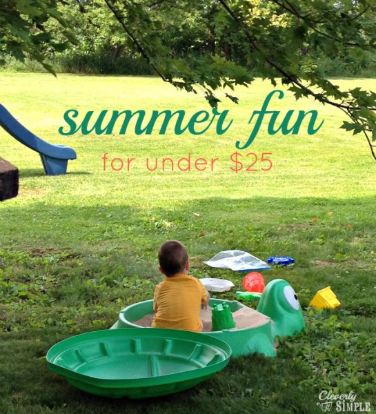 Enjoying the sand box from Kmart #ad
