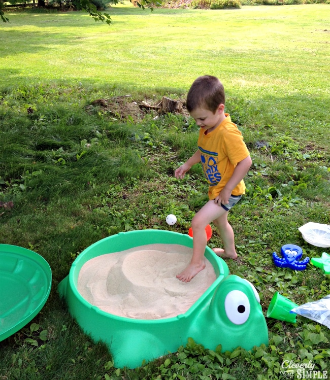 Getting your toys in the sand #ad