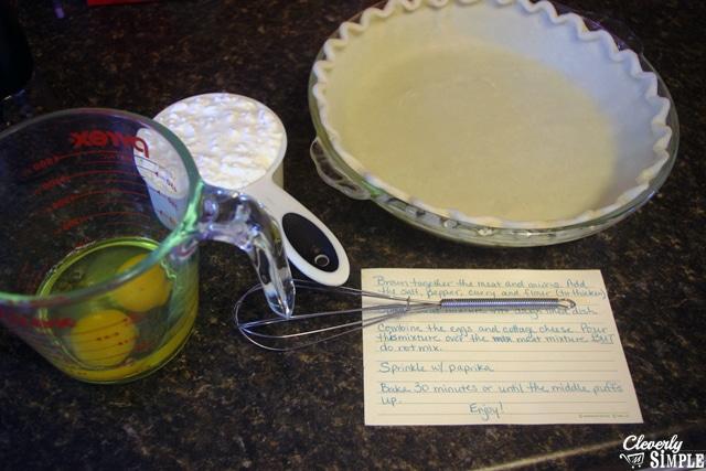 How to make a savory pie easy